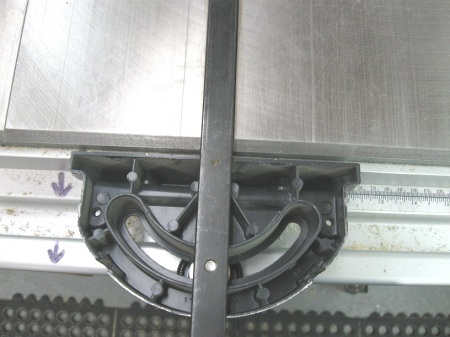 2 Miter Gauge Quick 90° Setting