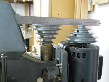Adding Speeds to a Drill Press