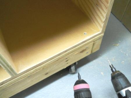 Lathe Stand and Tool Storage / Support de tour à bois et rangement d'outils
