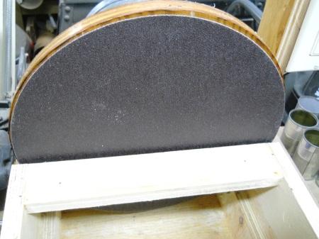 "Replacing a 12"" Sanding Disc / Remplacer un disque abrasif de 12"""