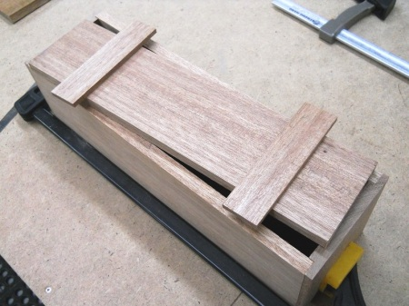 Pallet Wood Wine Gift Box / Boîte cadeau pour bouteille de vin de bois de palette