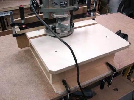 Horizontal Router Table / Table à toupie (défonceuse) horizontale