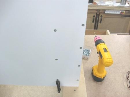 Vertical Drawers Wall Unit / Unité murale à tiroirs verticaux