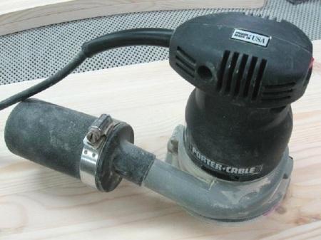 Loose ROS Canister Repair / Réparer une cartouche de ponceuse relâchée