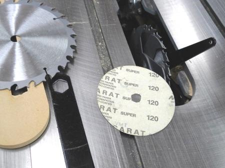 Sanding Disc Dado Set Shims / Disques de ponçage pour cales de lame à rainurer