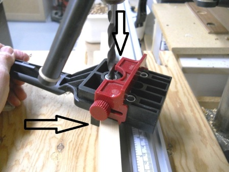 Mortise Centering Technique / Technique pour centrer les mortaises