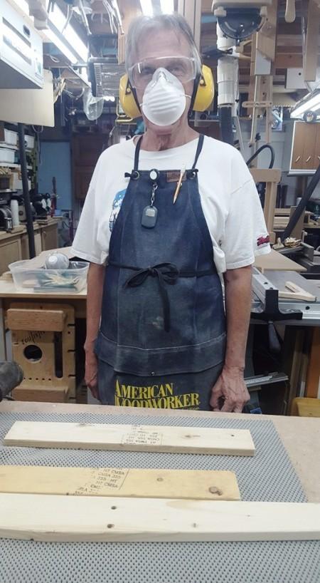Pallet Wood Frame to Hang Photos / Cadre de bois de palette pour photos