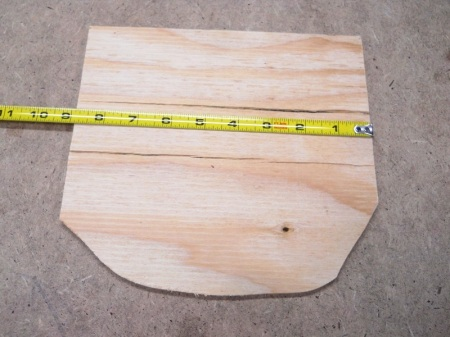 Band Saw Super Simple Circle Cutting Jig / Gabarit super simple pour couper des cercles à la scie à ruban