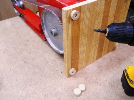 Moving Benchtop Power Tools / Déplacer des outils d'établi électriques